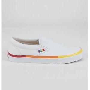 💛VANS Rainbow Foxing Classic Slip-On Sho💛